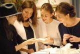 ジュエリープロデュース企画『+M collection』新作発表会に出席した(左から)森貴美子、菅原沙樹、葛岡碧、佐藤純 (C)ORICON NewS inc.