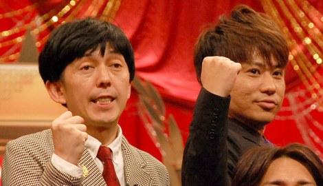 『THE MANZAI 2014』決勝大会に出場する2丁拳銃(左から)小堀裕之、川谷修士 (C)ORICON NewS inc.