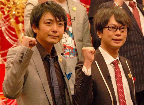 『THE MANZAI 2014』決勝大会に出場する磁石(左から)佐々木優介、永沢たかし (C)ORICON NewS inc.