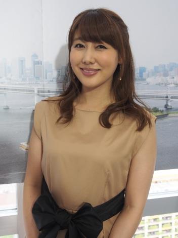 サムネイル タレントの安めぐみ (C)ORICON NewS inc.