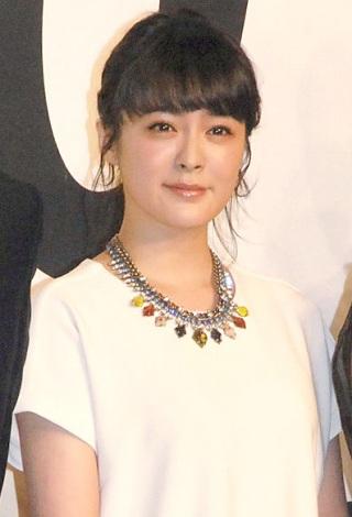 映画『悼む人』完成報告会見に出席した貫地谷しほり (C)ORICON NewS inc.