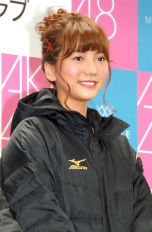 AKB48「マラソン部」新体制会見に出席した高城亜樹 (C)ORICON NewS inc.