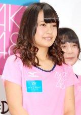 AKB48「マラソン部」新体制会見に出席した湯本亜美 (C)ORICON NewS inc.