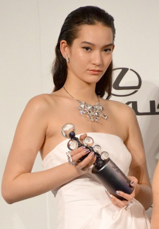 『2014 VOGUE JAPAN Women of the Year&VOGUE JAPAN Women of Our Time』受賞記者会見に出席した松岡モナ (C)ORICON NewS inc.