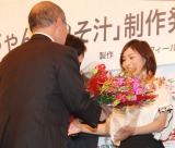 映画『はなちゃんのみそ汁』製作発表記者会見に出席した広末涼子 (C)ORICON NewS inc.