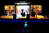 3日間限定『JOHNNIE WALKER presents 深海 ブラック バー』 バーカウンターの様子(C)oricon ME inc.