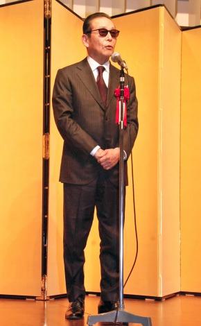 『第62回菊池寛賞』授賞式に出席したタモリ (C)ORICON NewS inc.