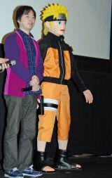 劇場版『THE LAST -NARUTO THE MOVIE-』初日舞台あいさつに登場した原作者の岸本斉史氏 (C)ORICON NewS inc.