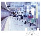 乃木坂駅ホームで撮影されたType-B