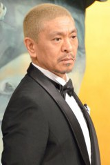 銀髪から金髪にした松本人志 (C)ORICON NewS inc.
