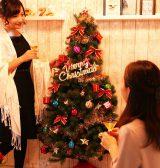 ワンルームや玄関など、少ないスペースでもクリスマス気分を堪能できる!