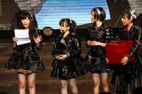 HKT48の指原莉乃(左)が台湾在住者を対象にした新メンバーオーディション開催を発表(7日=台湾・台北)(C)AKS