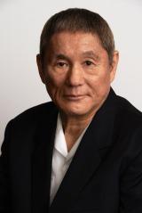 「ニコニコ生放送」の開票特番に出演する北野武