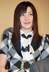 ドキュメンタリー映画『DOCUMENTARY of AKB48 show must go on 少女たちは傷つきながら、夢を見る』初日舞台あいさつに出席した岩田華怜