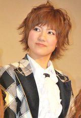ドキュメンタリー映画『DOCUMENTARY of AKB48 show must go on 少女たちは傷つきながら、夢を見る』初日舞台あいさつに出席した宮澤佐江