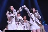 昼の部では菊地卒業後のシングルを初披露した