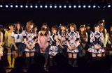 AKB48卒業を発表した高橋みなみ(中央) (C)AKS