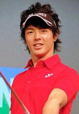 2012年年間CM起用社数1位に輝いたプロゴルファー・石川遼 (C)ORICON DD inc.