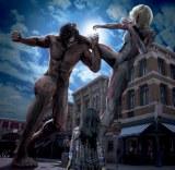 USJに『進撃の巨人』アトラクションが登場(C)諫山創・講談社/「進撃の巨人」製作委員会