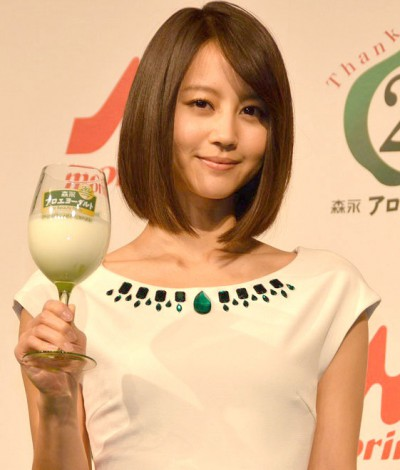 『森永アロエヨーグルト20歳のバースデーイベント』に出席した堀北真希 (C)ORICON NewS inc.