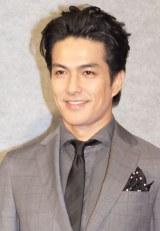 NHK特集ドラマ『途中下車』記者会見に出席した北村一輝 (C)ORICON NewS inc.