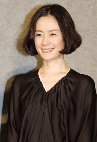 NHK特集ドラマ『途中下車』記者会見に出席した原田知世 (C)ORICON NewS inc.