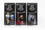 限定生産でミニフィギュア化されたSUGIZO、INORAN、Jのギター&ベース (C)2014-2015 LUNA SEA Inc