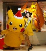 『ポケモンセンターメガトウキョー』のオープニングイベントに出席した吉木りさ (C)ORICON NewS inc.