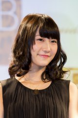 NMB48×Bijoude CM&コラボレーションジュエリー発表記者会見に出席したNMB48の矢倉楓子