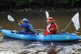 カヌーを二人で漕ぎマングローブ林を横切るという南の島らしい経験も(C)テレビ朝日