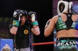 12月13日放送『炎の体育会TV SP』で今田耕司も初勝利目指してシュートボクシング対決に挑む(C)TBS