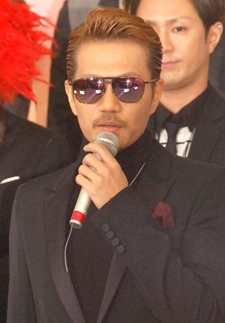 『第56回 輝く!日本レコード大賞』記者会見に出席したEXILE ATSUSHI