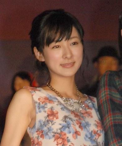 映画『アオハライド』の初日舞台あいさつに出席した藤本泉 (C)ORICON NewS inc.