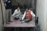 エジプトで発掘・復元作業が進められている「太陽の船」の発掘現場