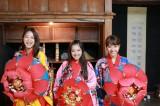 沖縄の民族衣装を着ました