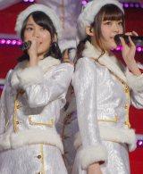 乃木坂46のライブ『Merry X'mas Show 2014』に出演した(左から)生田絵梨花、松村沙友理 (C)ORICON NewS inc.