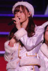 乃木坂46『Merry X'mas Show 2014』に出演した白石麻衣 (C)ORICON NewS inc.