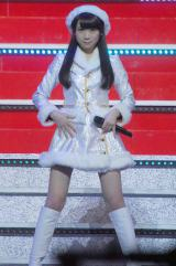 乃木坂46のライブ『Merry X'mas Show 2014』に出演した秋元真夏 (C)ORICON NewS inc.