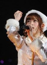 乃木坂46のライブ『Merry X'mas Show 2014』に出演した松村沙友理 (C)ORICON NewS inc.