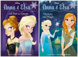 写真は『アナと雪の女王』の新作小説『Anna&Elsa 1 All Hail the Queen』『Anna&Elsa 2 Memory and Magic』米国版カバー(米でランダムハウス社より現地時間2015年1月6日2冊同時刊行予定)