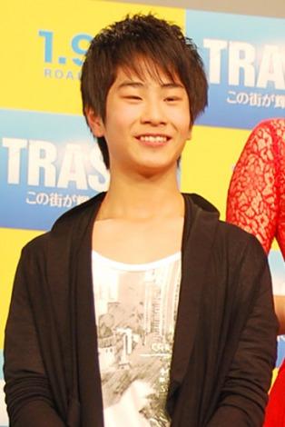 映画『トラッシュ!-この街が輝く日まで-』試写イベントに出席したまえだまえだ・前田旺志郎