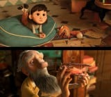 初公開された『リトルプリンス 星の王子さまと私』場面写真。主人公の9歳少女と老飛行士が映し出されている(C)2014 LPPTV - Little Princess - ON Entertainment - Orange Studio - M6 Films