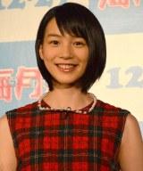 映画『海月姫』クラゲ命名イベント出席した能年玲奈 (C)ORICON NewS inc.