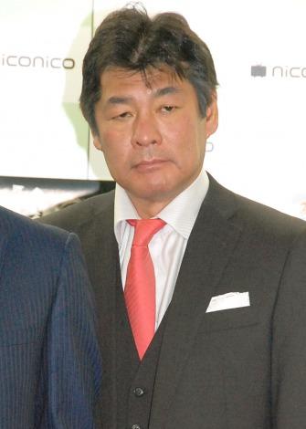 映画『表と裏』記者発表会に出席した赤井英和 (C)ORICON NewS inc.