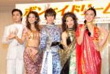 (左から)加藤和樹、すみれ、浦井健治、朝海ひかる、川久保拓司 (C)ORICON NewS inc.