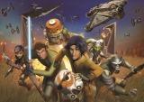 アニメ『スター・ウォーズ反乱者たち』初回特別版は2015年1月24日、午後7時より「ディズニーXD」「Dlife」「ディズニー・チャンネル」で同時放送(C)& TM 2014 Lucasfilm Ltd.