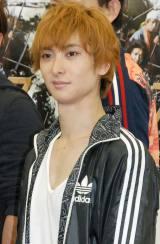 ミュージカル『SAMURAI 7』の公開けいこ後取材会に出席した古川雄大 (C)ORICON NewS inc.