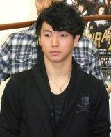 ミュージカル『SAMURAI 7』の公開けいこ後取材会に出席した矢崎広 (C)ORICON NewS inc.