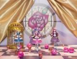 手のひらサイズの可動フィギュア「ミクロマンアーツ」シリーズにプリパラが初登場。予約数が一定数に達した場合に商品化となる(※画像は試作彩色原型)(C)T-ARTS / syn Sophia / テレビ東京 / PP製作委員会
