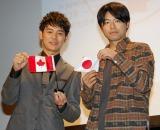(左から)妻夫木聡、石井裕也監督 (C)ORICON NewS inc.